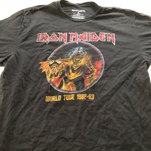 Other - Iron Maiden tee shirt vintage best offer by 2 est